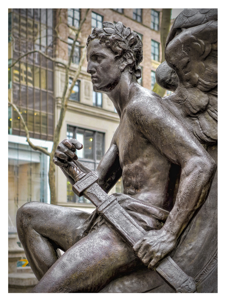 Photograph New York Public Library Male Statue by Steven Li on 500px
