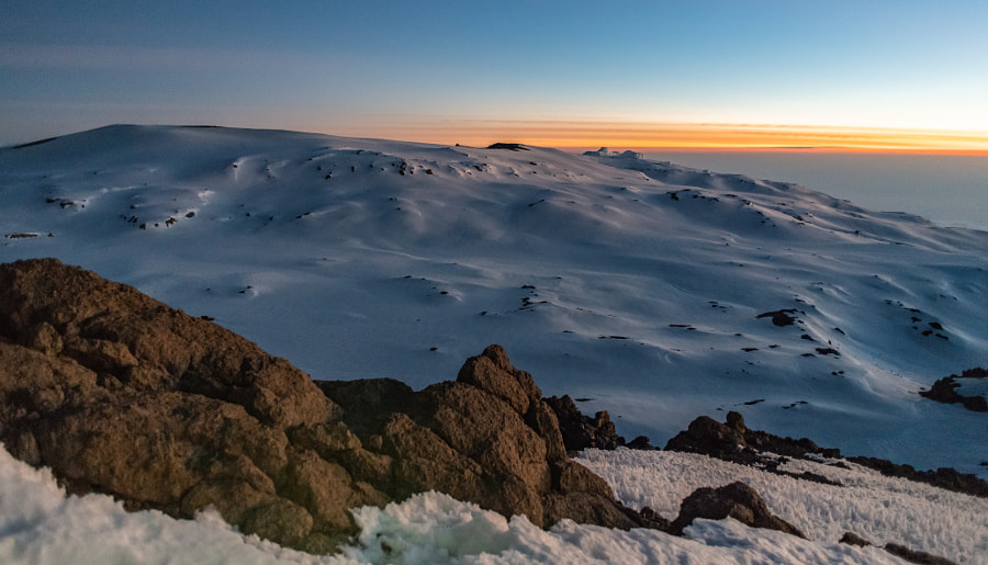 The Snows of Kilimanjaro by Matt MacDonald on 500px.com