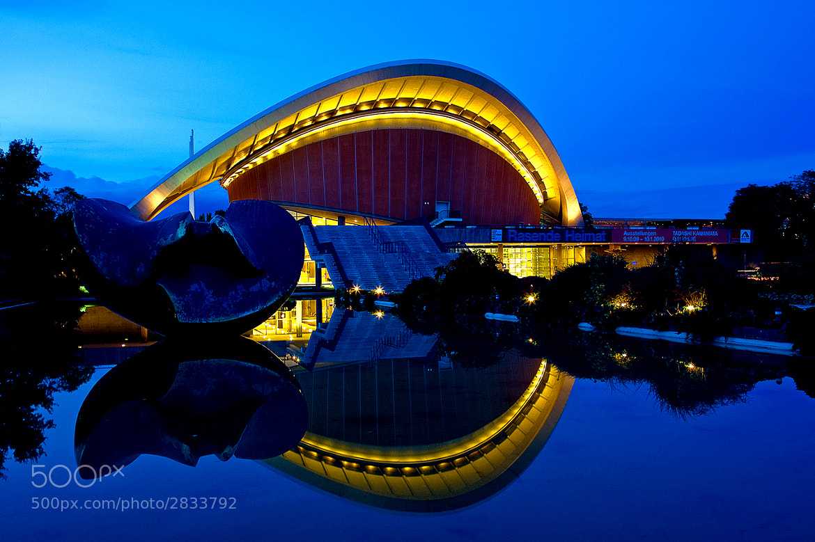 Photograph Haus der Kulturen der Welt  by Andreas  Welsch on 500px