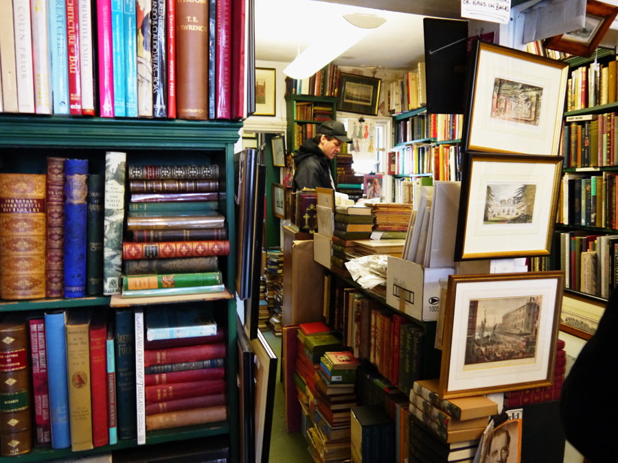Fosters' Bookshop, London by Sandra  on 500px.com