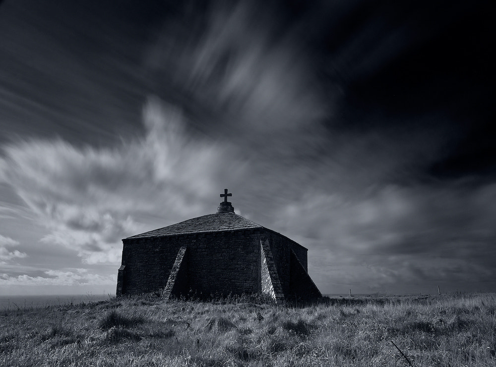 Photograph 43, St Aldhelm's Chapel Black and White by Nick Mansell on 500px