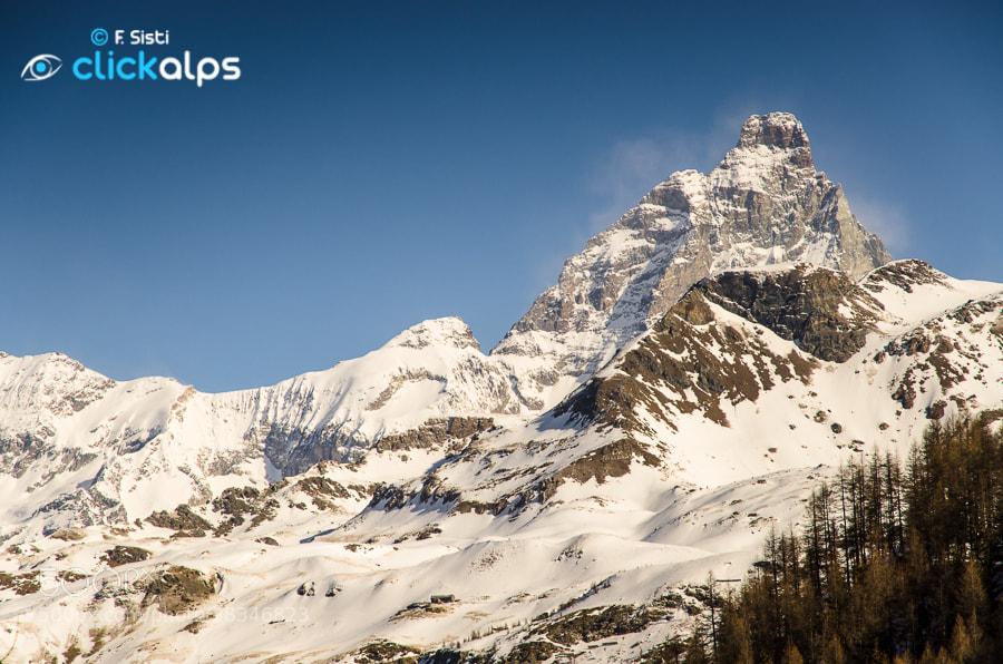 Photograph Un diamante nel paesaggio... (Valtournenche, Valle d'Aosta) by Francesco Sisti on 500px