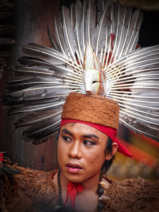 Photograph Portrait of Dayak by Ari Wid on 500px