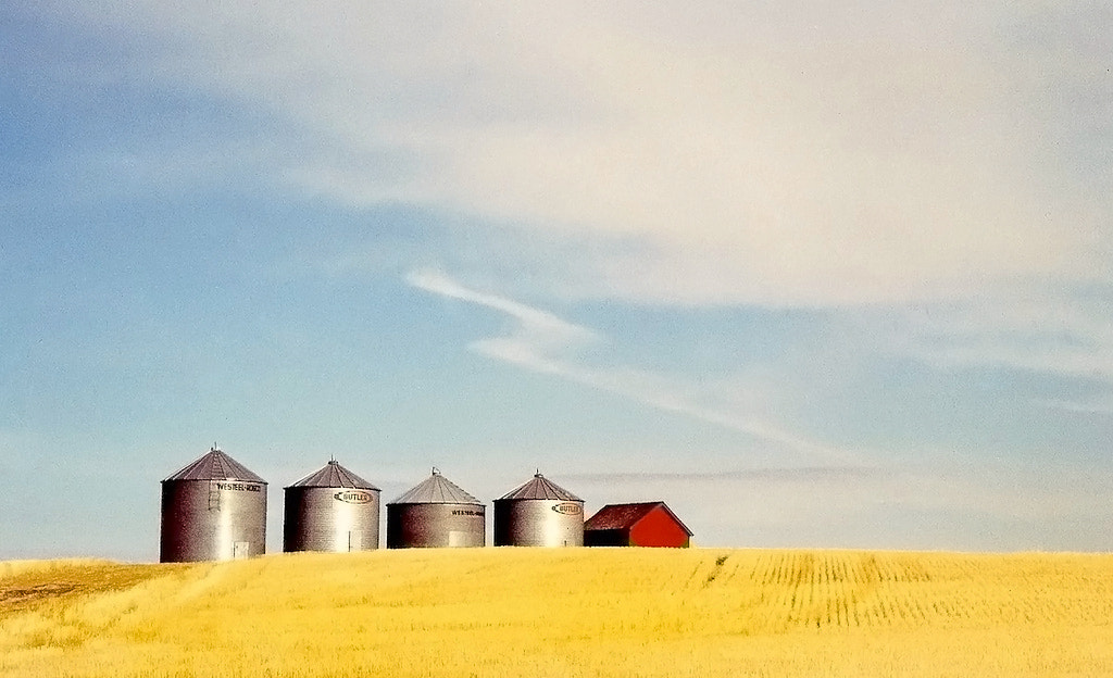 Photograph prairie silos by Mister Mark  on 500px