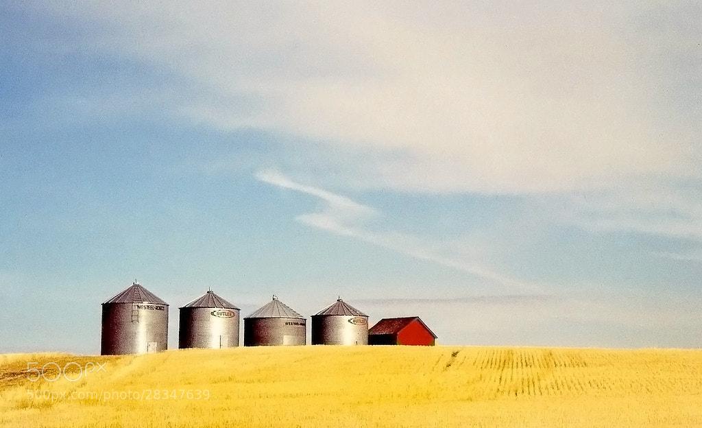 Photograph prairie silos by Mister Mark  on 500px