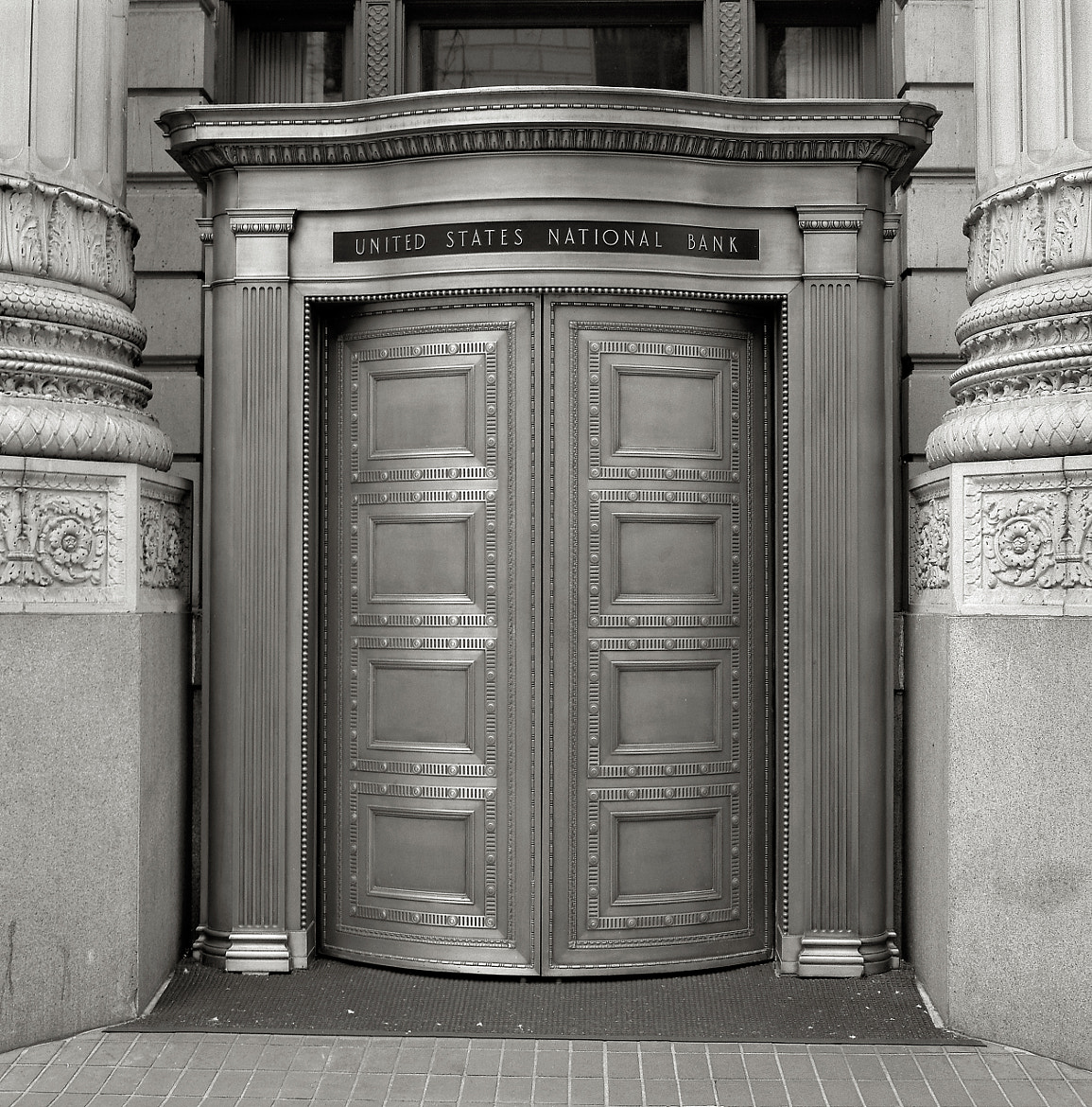 Photograph Bank Doors, Portland by Austin Granger on 500px