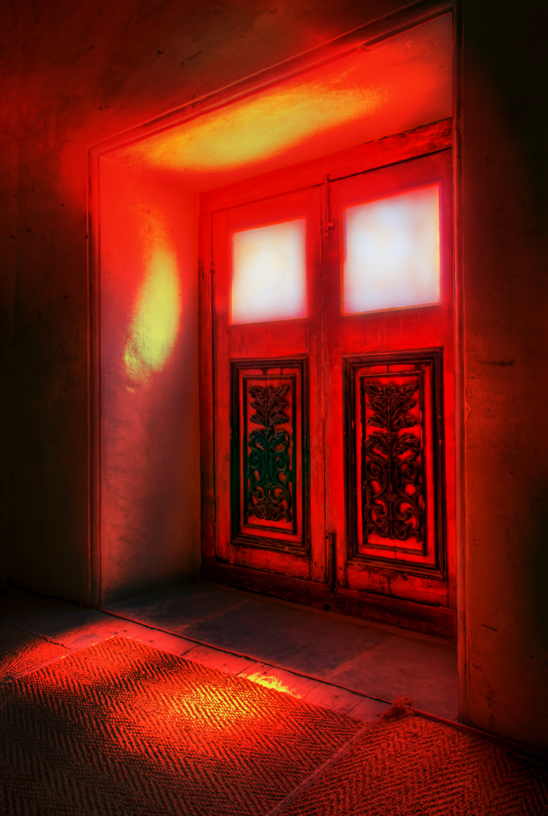 Photograph Red Window by Swasti Verma on 500px