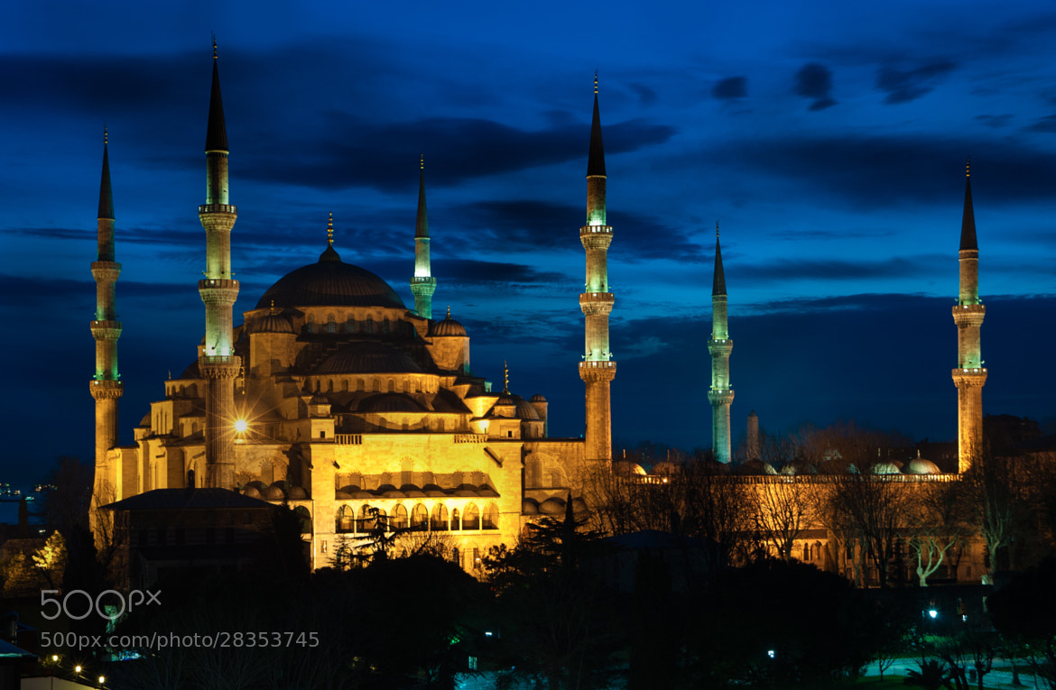 Photograph Blue Mosque by alessandro giovanelli on 500px