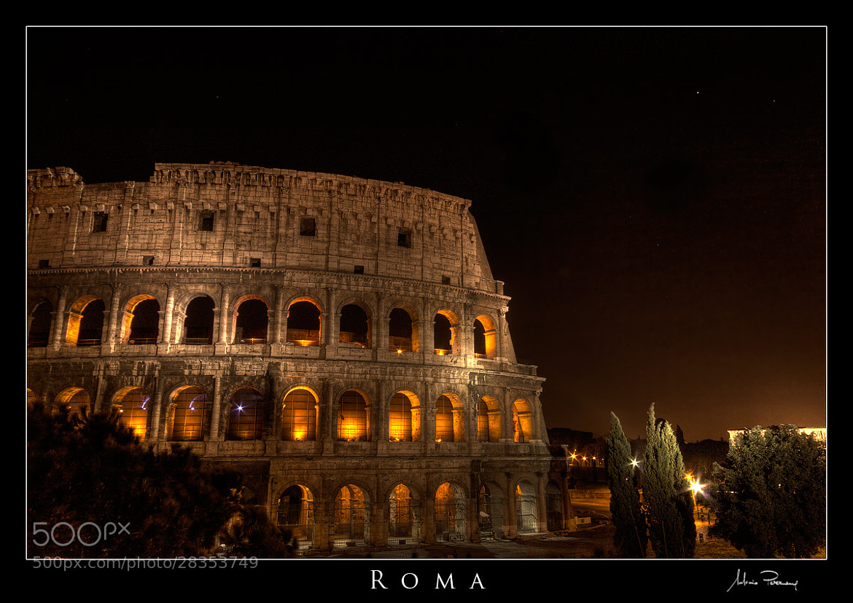 Photograph Roma by Antonio Perrone on 500px