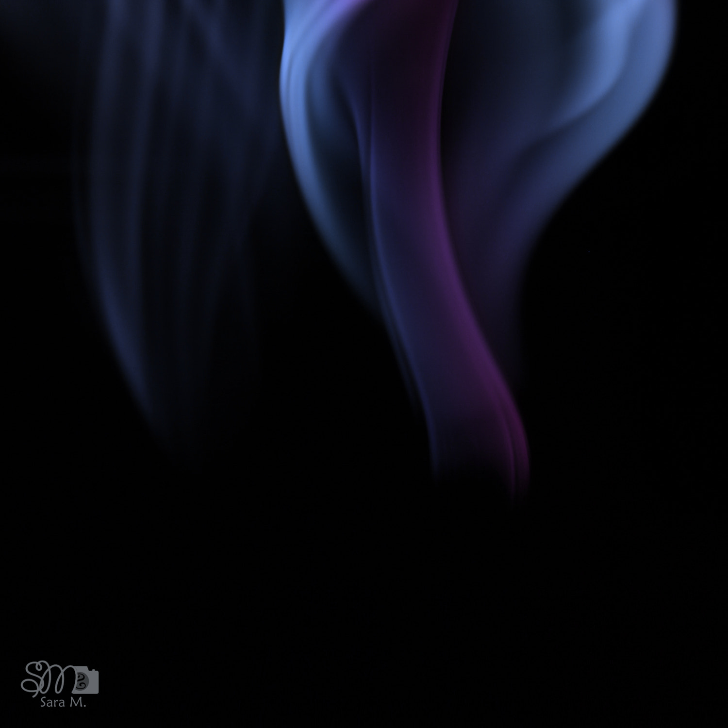 Photograph Blue fire by Sara M. on 500px
