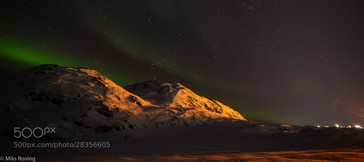 Photograph Burning mountain by Milo Rosing on 500px
