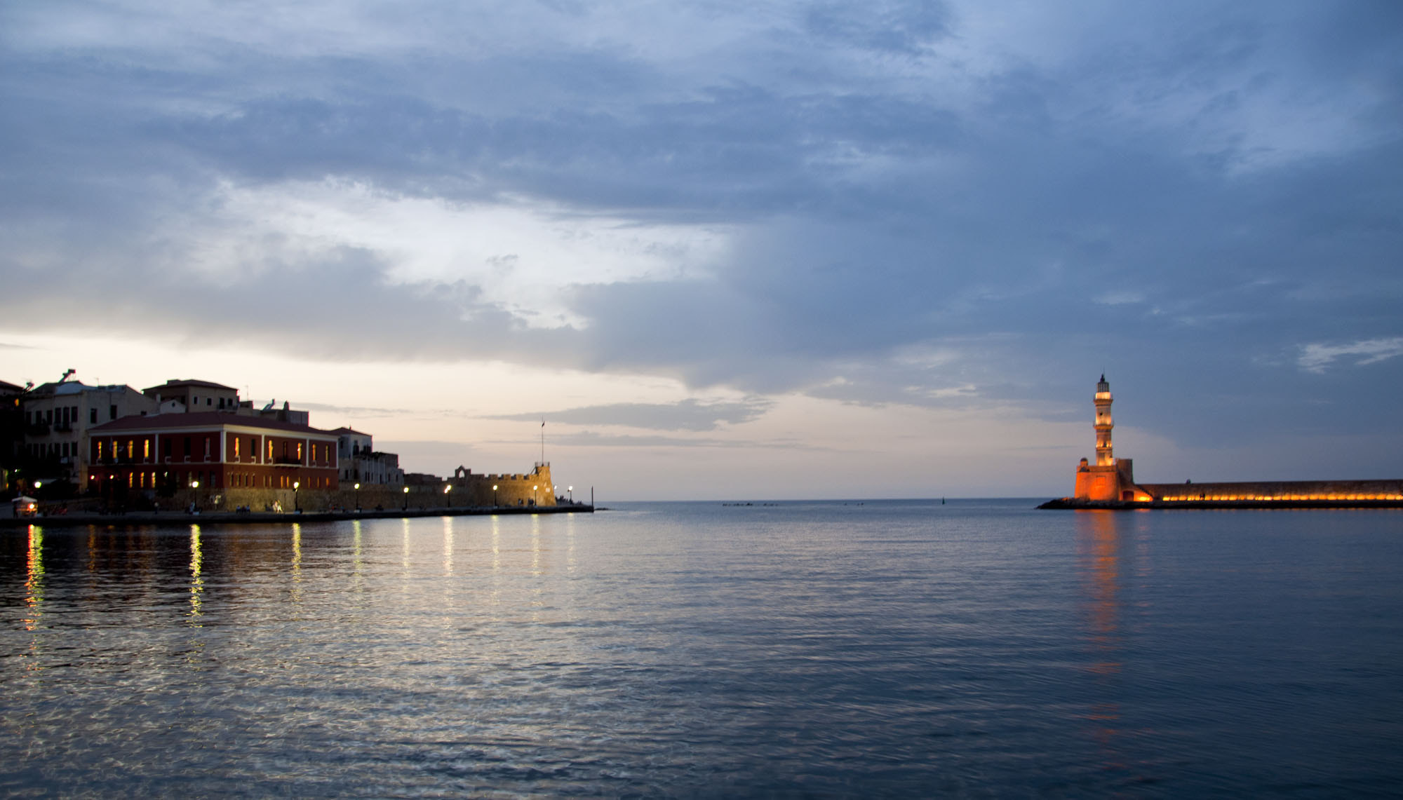 Photograph Port of Chania by George Gavrilakis on 500px