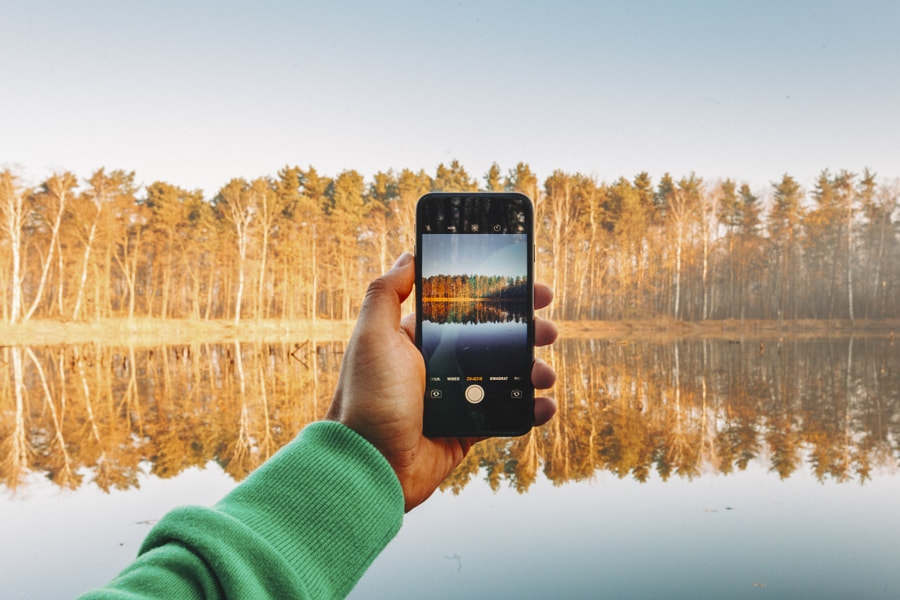 Iphonception by Kuba Szymik on 500px.com