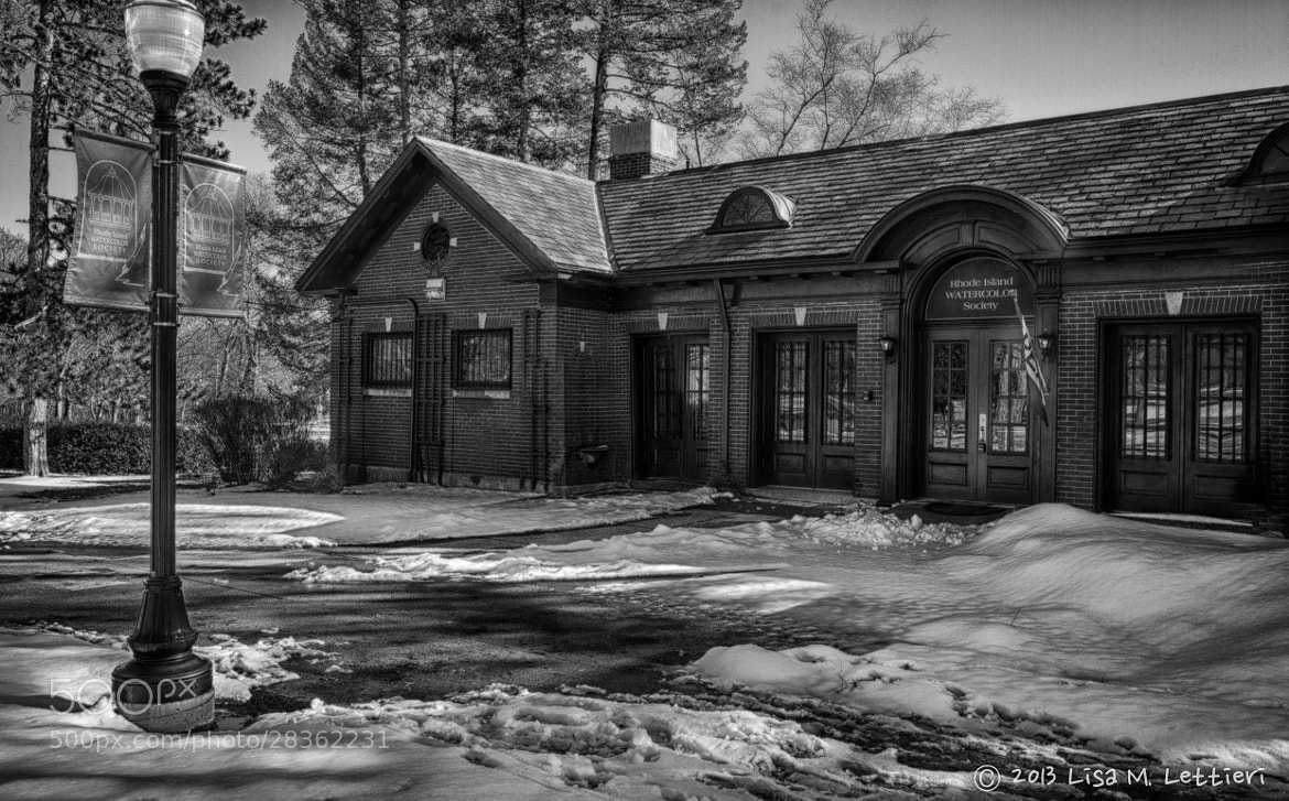 Photograph The Slater Park Boat House by Lisa Lettieri on 500px