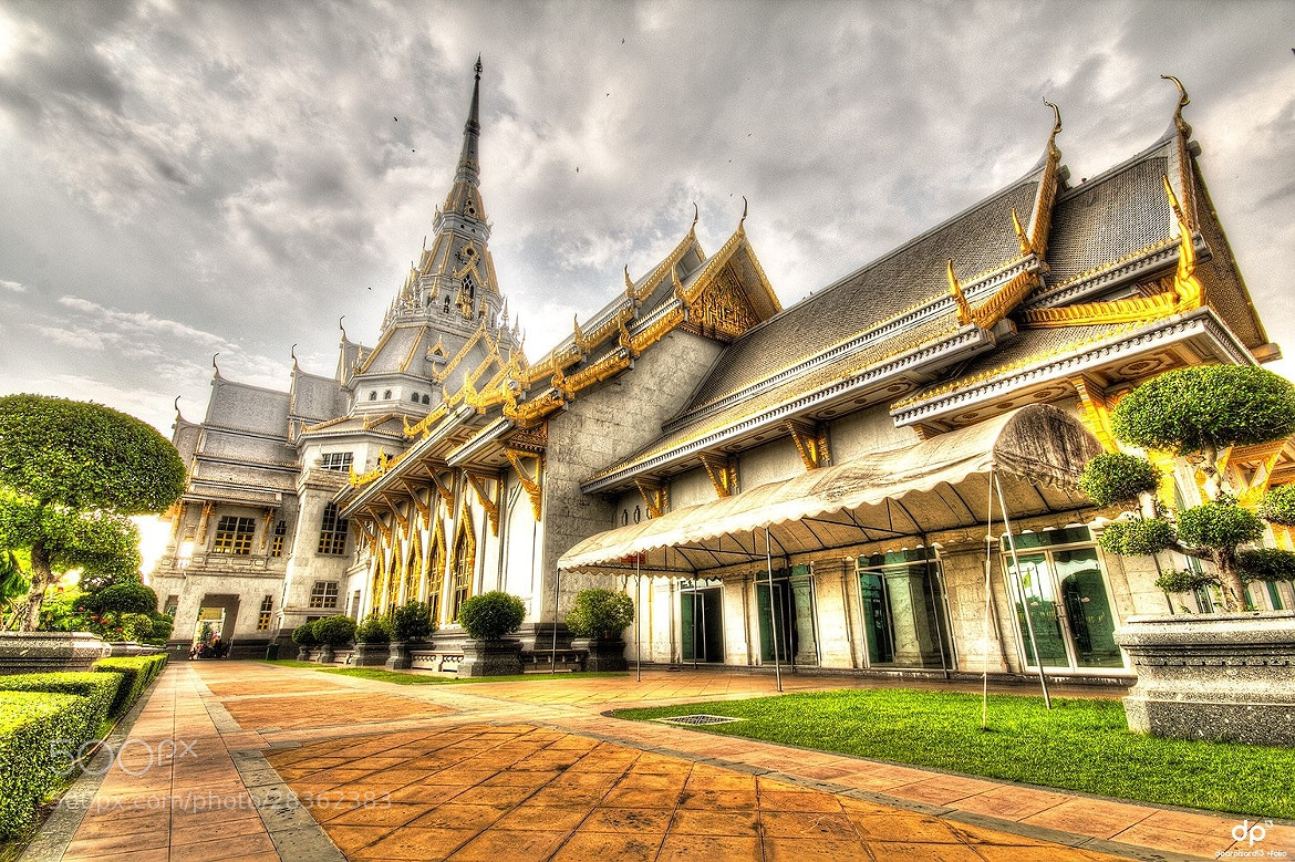 Photograph Wat Sotorn temple HDR by Wisarut Thammathatto on 500px