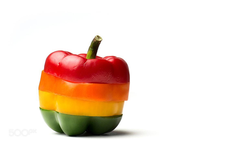 Photograph Pepper Rainbow  by Ahmad Abusaad on 500px