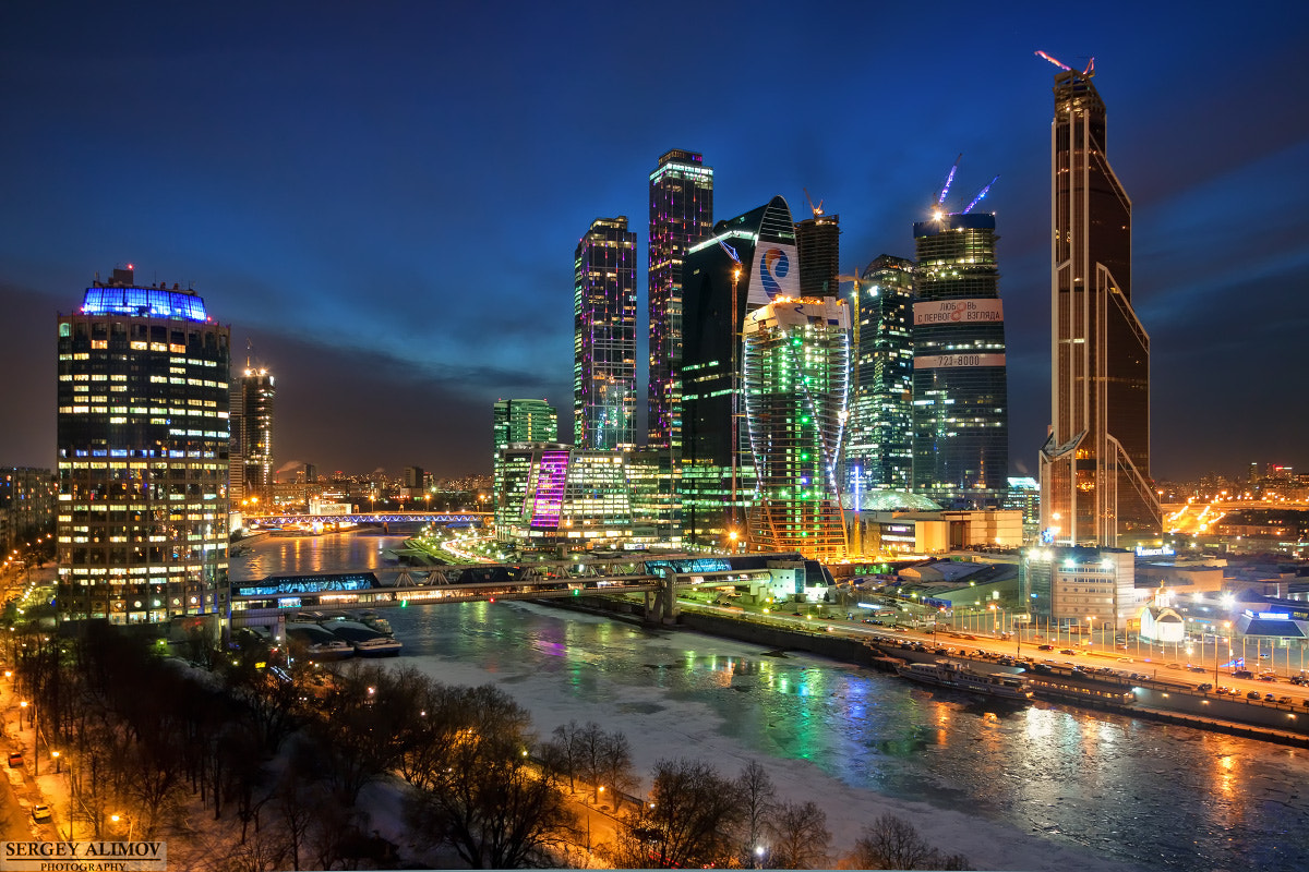 Photograph Moscow Doesn't Sleep by Sergey Alimov on 500px