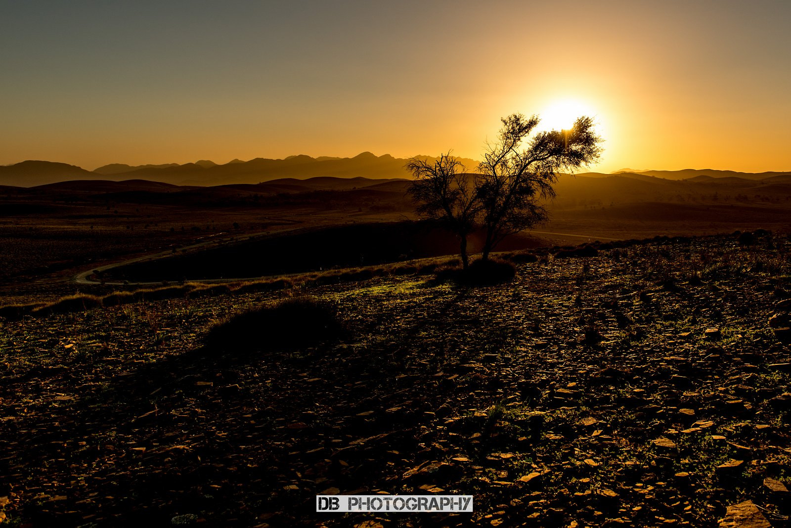 Photograph Sunset over Wilpena Pound by Hans Weichselbaumer on 500px