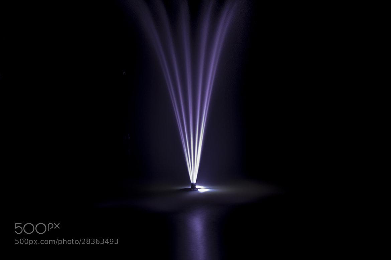 Photograph Purple fountain by Chris Daniel on 500px