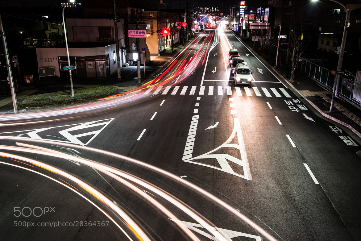 Photograph Give way to the lights  by hugh dornan on 500px