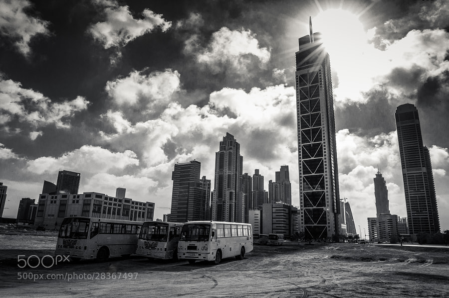 Photograph In the shadow Of Dubai's skyscrapers by Olga Giannopoulou on 500px