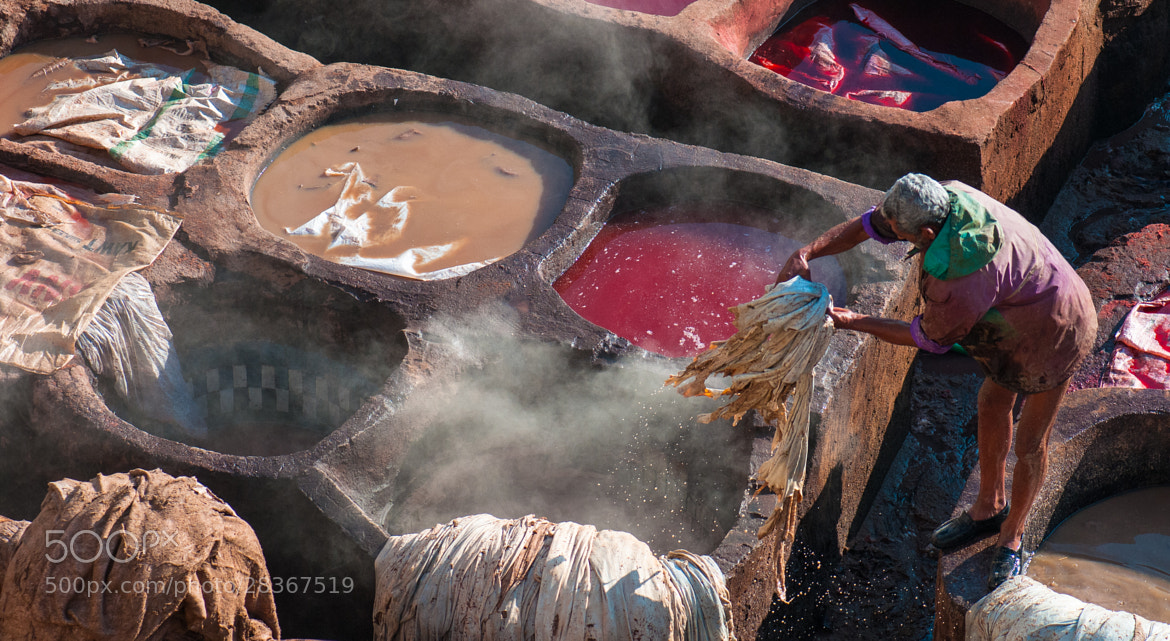 Photograph Toiler of leather by Olga Giannopoulou on 500px