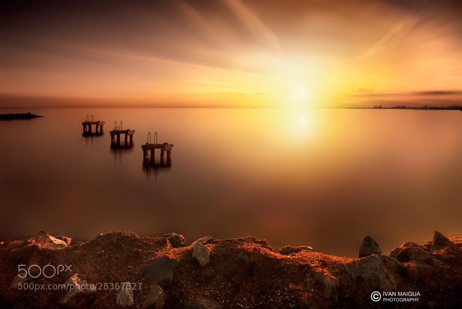 Photograph Orange sunset by Iván Maigua on 500px