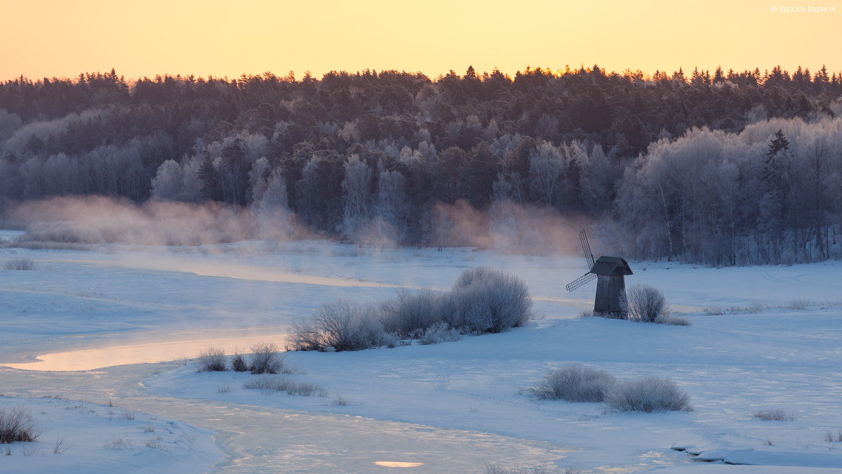 Photograph cold morning by Sergey Ershov on 500px