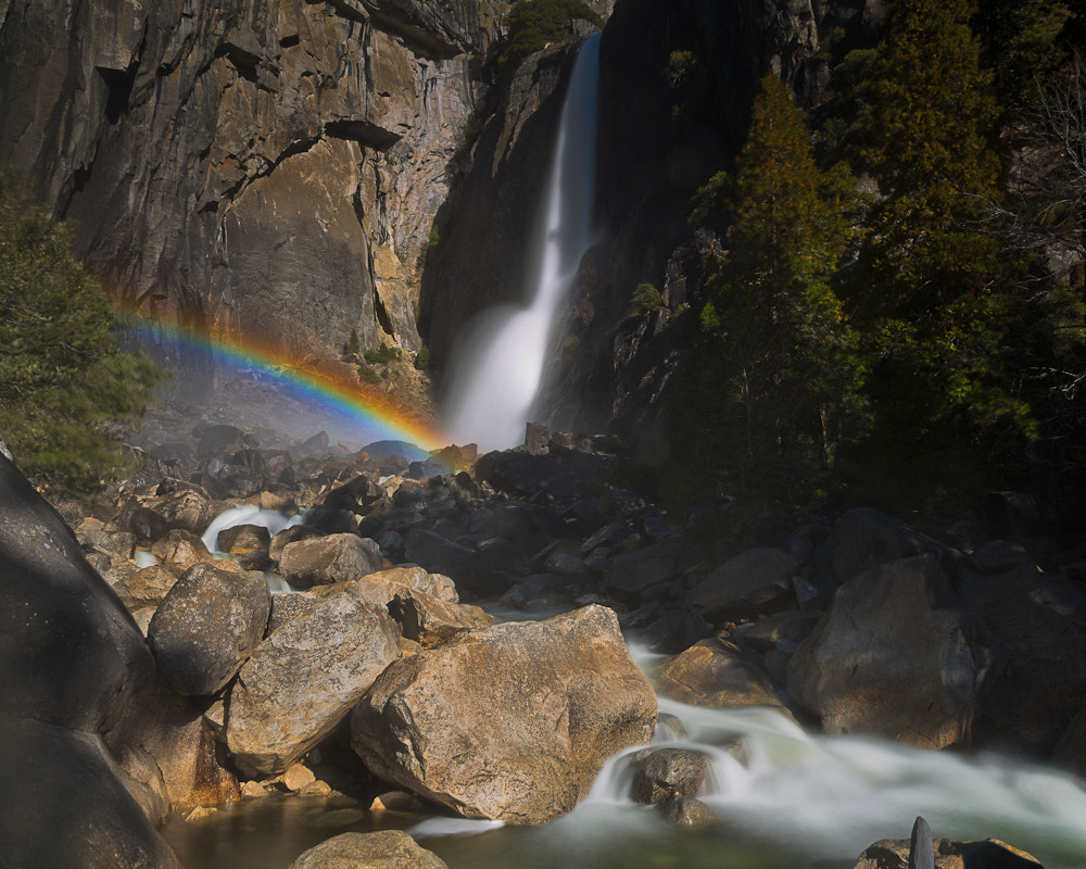 Photograph Rainbow At Lower Yosemite Fall by Joseph Trinh on 500px