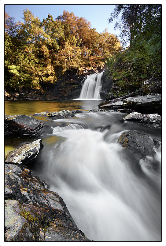 Photograph Fall of Falloch, Loch Lomond by Alex Scott on 500px