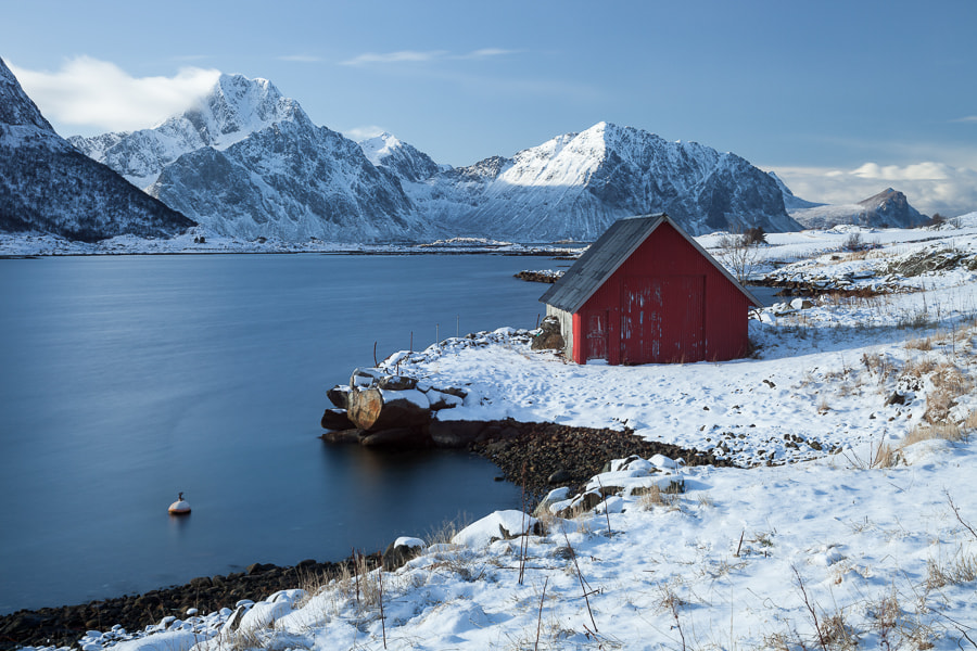 Photograph Red hut by John Q on 500px