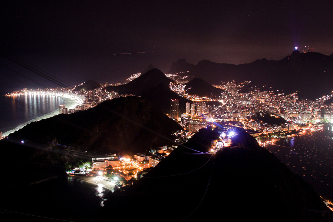 Photograph Rio at Night by Gustavo Maciel on 500px