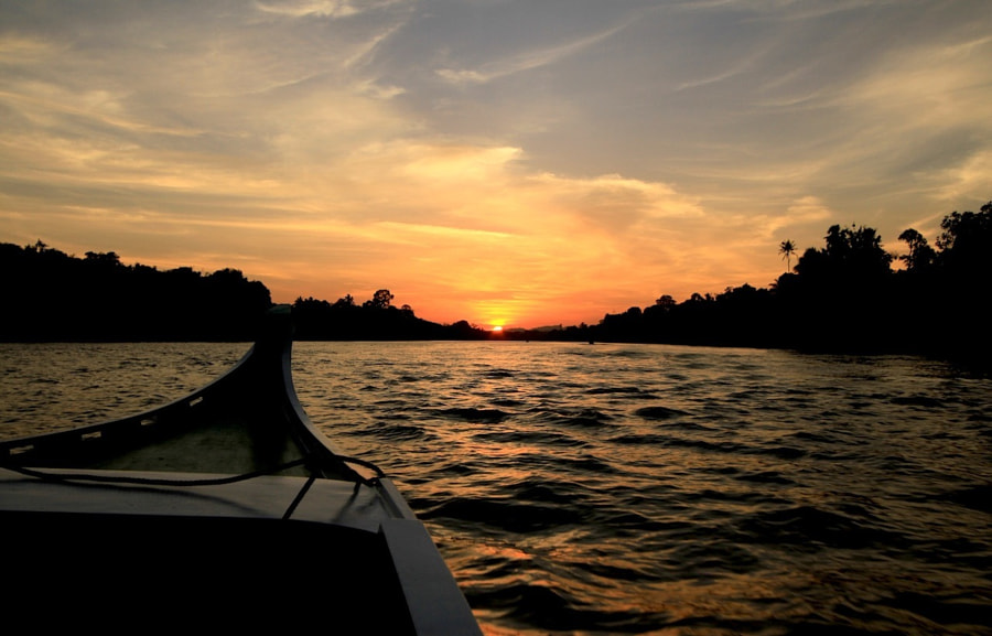 The Kinabatangan River. one of our favourite places in Borneo