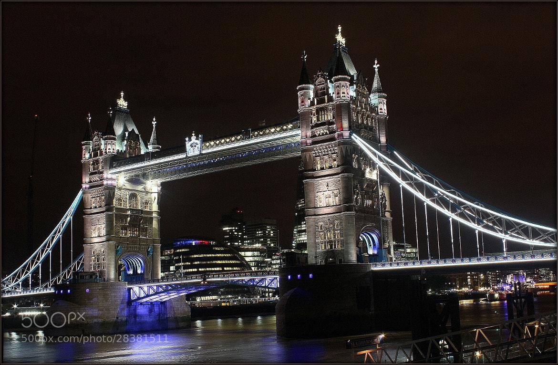 Photograph Tower bridge by Sandeep Malhotra on 500px