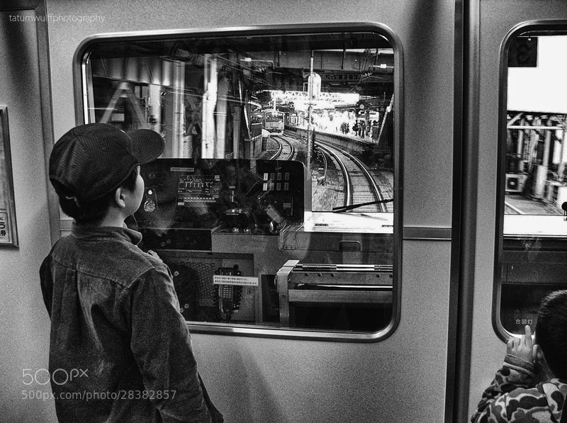Photograph A Mutual Love for Trains by Tatum Wulff on 500px