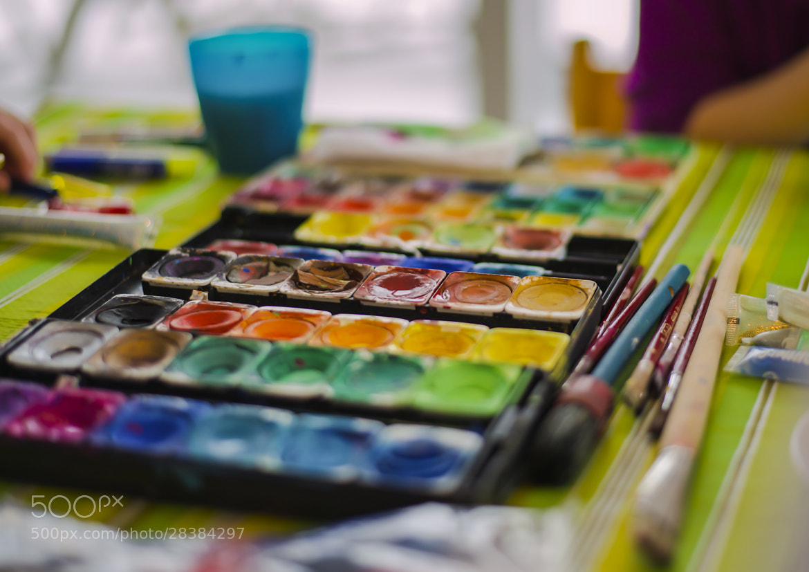 Photograph The paintbox by Lars Zahner on 500px