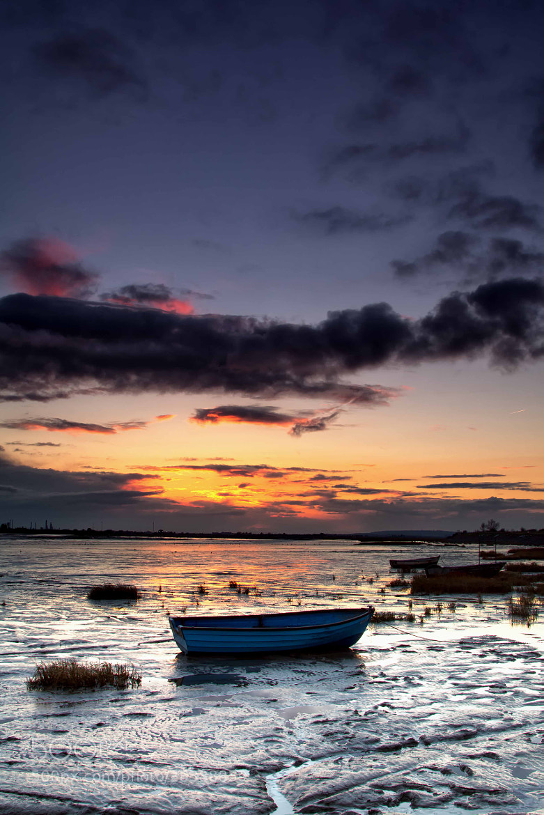 Photograph Blue Boat by Phil Buckle on 500px