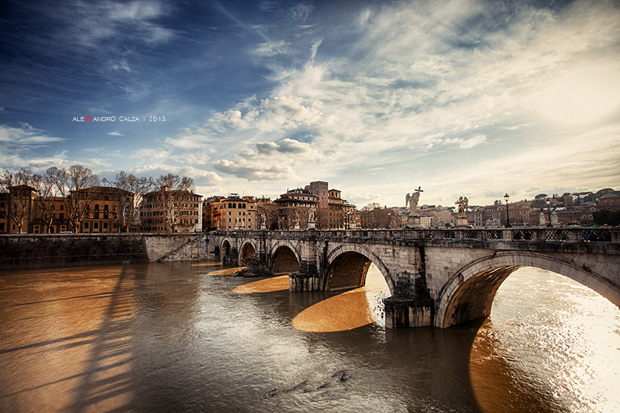 Photograph Ponte Sant'Angelo by Alessandro Calza on 500px