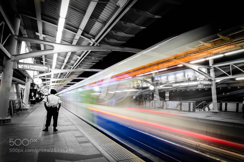Photograph Bangkok Skytrain by Heart Disk on 500px
