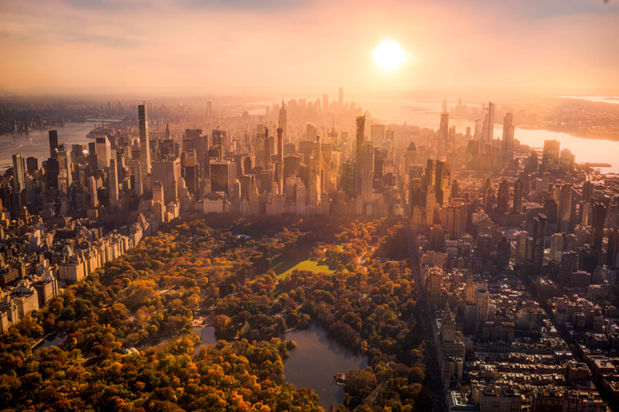 Manhattan and Central Park by Serge Ramelli on 500px.com
