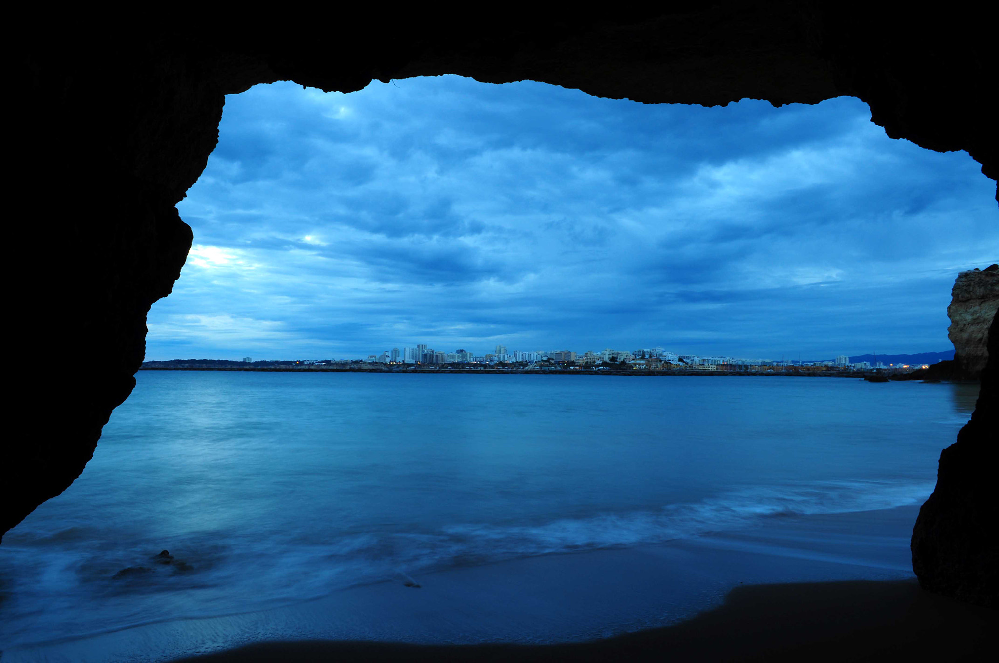 Photograph View from a sea cave by José Eusébio on 500px
