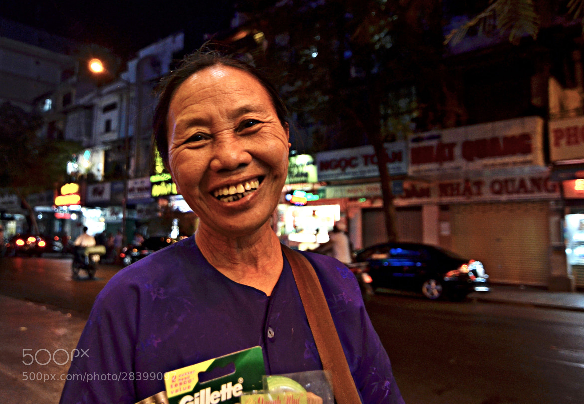 Photograph Saigon street seller by S e i n on 500px