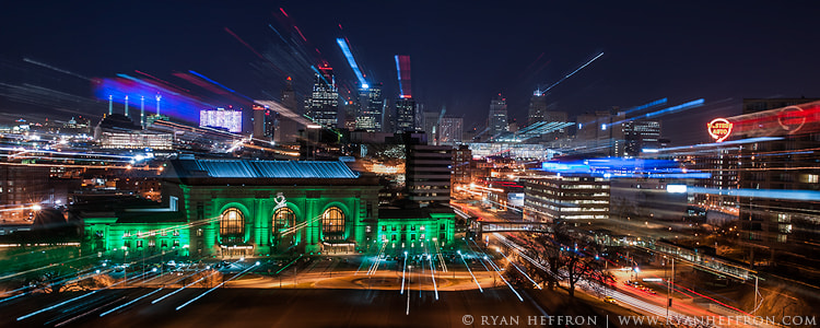 Photograph KC Skyline Burst by Ryan Heffron on 500px