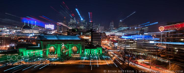 Photograph KC Skyline Burst by Ryan Heffron on 500px