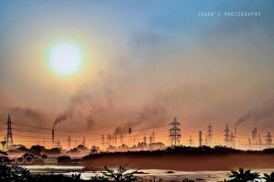 Photograph Deadly reality of pollution, Manali, Chennai, India by Jagan   on 500px