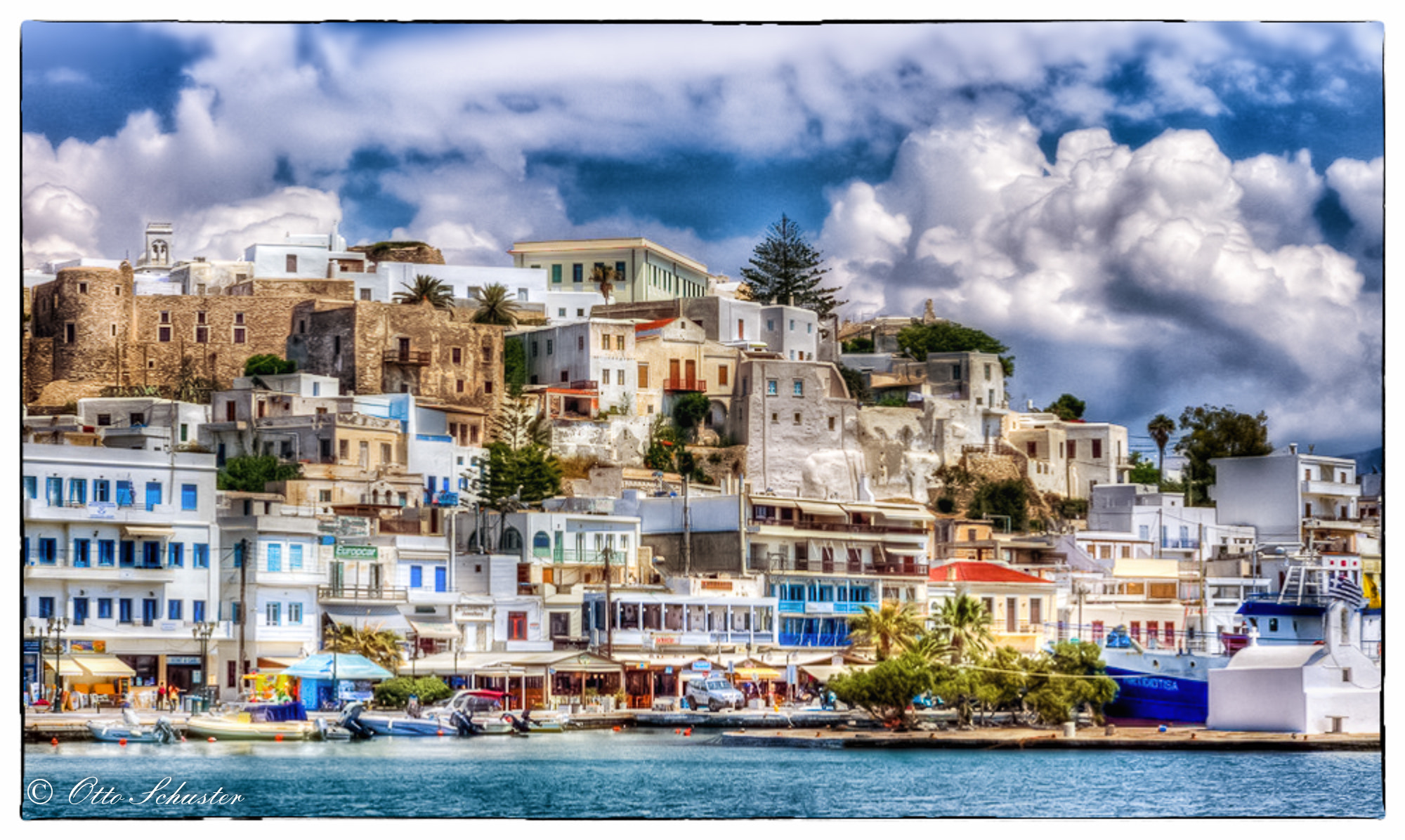 Photograph Naxos Chora by Otto Schuster on 500px