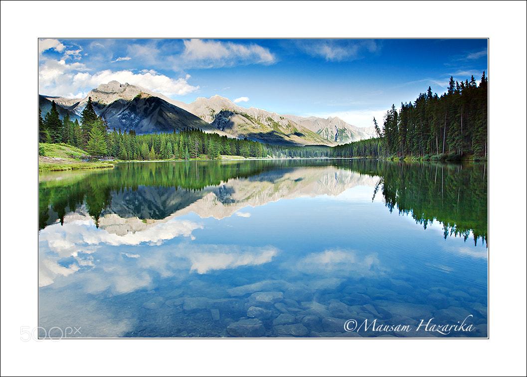 Photograph Johnson Lake by Mausam Hazarika on 500px