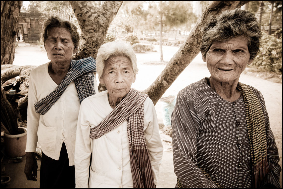 Photograph Khmer ladies at prayer by Brian Graney on 500px