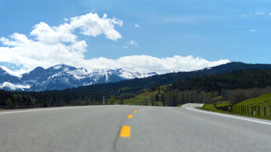 Road to the Rocky Mountains