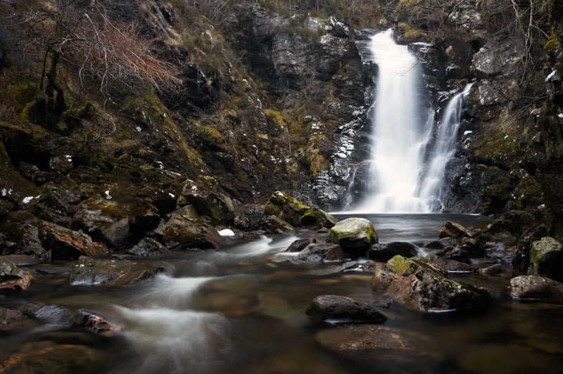 Photograph Corrimony Falls, Glenurquhart, Scottish Highlands by Heather Leslie Ross on 500px
